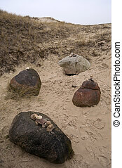 Stone Age Tomb Site on Amrum in Germany