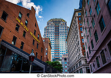 The South Market and other buildings in Boston,...