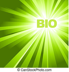 BIO ECO organic poster - BIO ECO organic adverisement -...