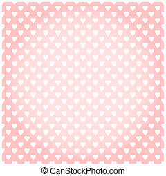 Valentine's day background - Background with little hearts