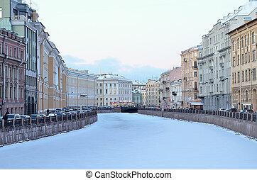 Saint Petersburg, Russia in winter - SAINT PETERSBURG,...