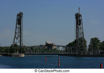 Draw Bridge - Draw bridge in Port Colborne, Ontario, Canada.