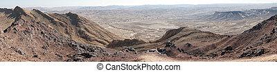 Ramon - Crater Ramon in Negev desert, Israel...