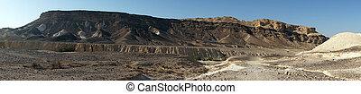 Negev - Mountain in Negev desert in Israel...