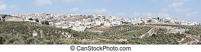 Nazareth - Panorama of Nazareth on the hills...