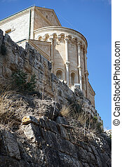 Transfiguration church on the top of Tavor mount in Israel...