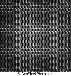 Metal texture grey metal background vector, 10 eps