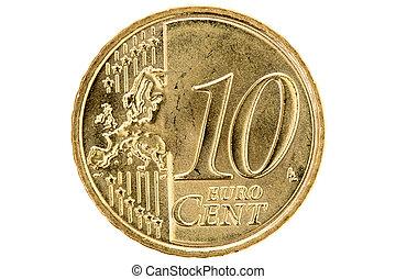 dez, centavo,  Euro