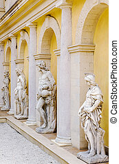 Sculptures - Series Of sculptures In The Arches Of The...