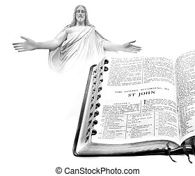 Bible New Testament St. John Jesus