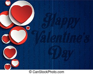 Valentines Day Heart Jeans Backgrou