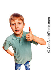 yeah boy gesture isolated white background - yeah boy...