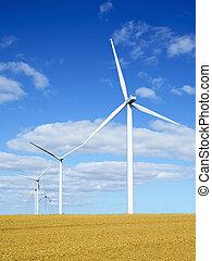 viento, turbinas, 3