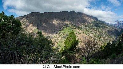 4k Time Lapse, La Palma, Barranco De Las Angustias