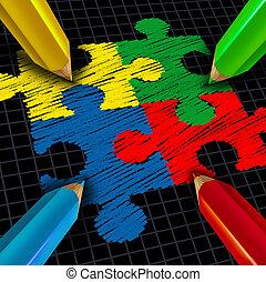 Assembling Business Group - Assembling a business group...