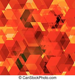 Seamless pattern of 3d cubes. - Vectors seamless pattern of...