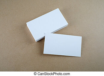 Business card - Blank business cards Template for branding...