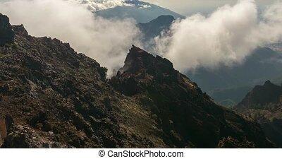 Time Lapse, La Palma - 4k Time Lapse, La Palma, Roque De Las...