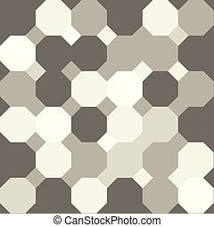 Octagonal Background - Gray octagon shape pattern background
