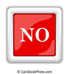 No icon. Internet button on white background.