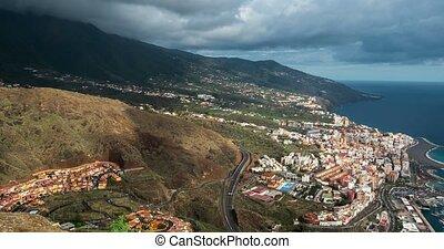 Time Lapse, La Palma, Santa Cruz - 4k Time Lapse, La Palma,...
