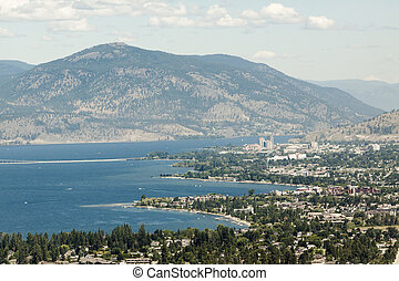 High View overlooking City of Kelowna
