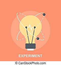 Experiment - Vector illustration of experiment flat design...