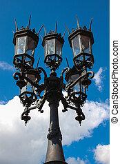 Dresden Street lights 01 - Street lightpost on Theaterplatz...