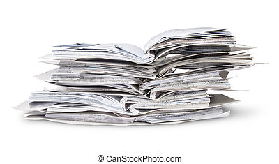 Stack Of Open Files