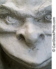Gargoyle Statue - Gargoyle statue taken with emphasis on...