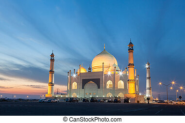 Siddiqa Fatima Zahra Mosque in Kuwait, Middle East