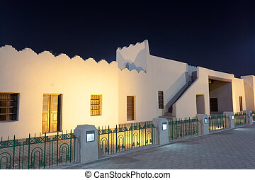 Historic Al-Shamiya Gate in Kuwait City, Middle East