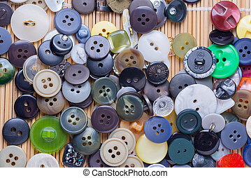 buttons - the background of a large number of buttons...
