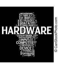PC Hardware  - Hardware word cloud