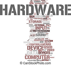 Computer Hardware  - Hardware word cloud