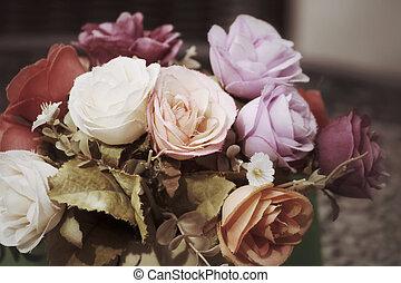 vindima, rosas