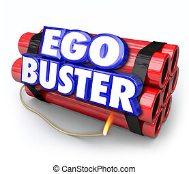 Ego Buster Dynamite Bomb Discouraging Feedback Criticism -...