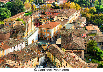 Italian medieval country village