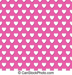 Valentines day heart patterned background - Abstract...