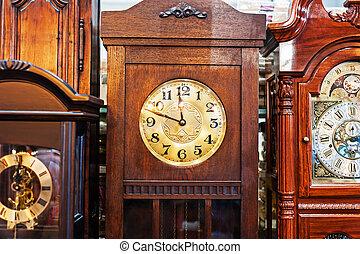 anticaglia, passeggero, orologio, vecchio, tempo