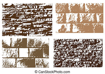 Stone texture Vector illustration