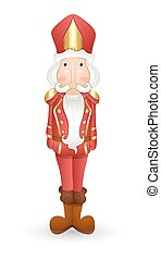 Nutcracker Cartoon Character - Cartoon Funny Nutcracker...
