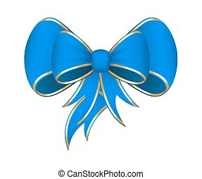 Vector Gift Ribbon Bow