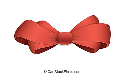 Ribbon Bow Vector Illustration
