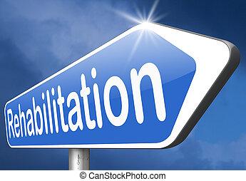 rehabilitation rehab for drugs alcohol addiction or sport...