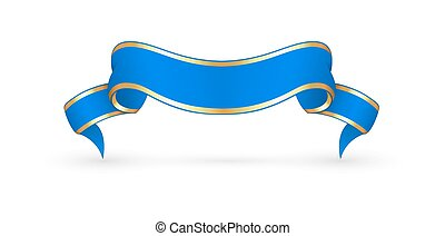 Vector Festive Ribbon Banner