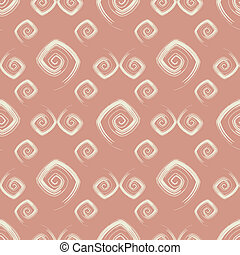 Abstract seamless pink pattern (vector)