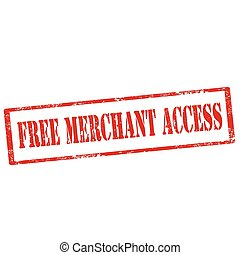 Free Merchant Access-stamp