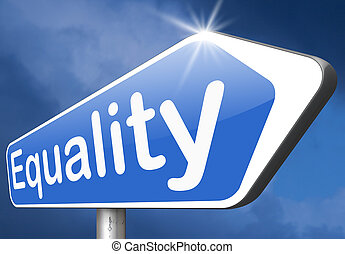 equality for man and women and solidarity equal rights and...