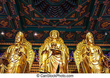 Buddha statues Wat Leng Noei Yi 2 - Buddha statues Wat Borom...